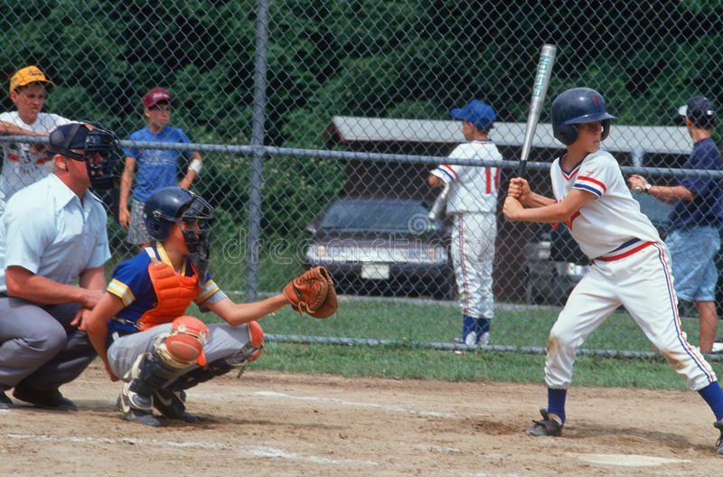 Baseball Player Batting A Little League Baseball Player Batting Hebron Ct Ad Batting Player B Baseball Players Little League Baseball Little League
