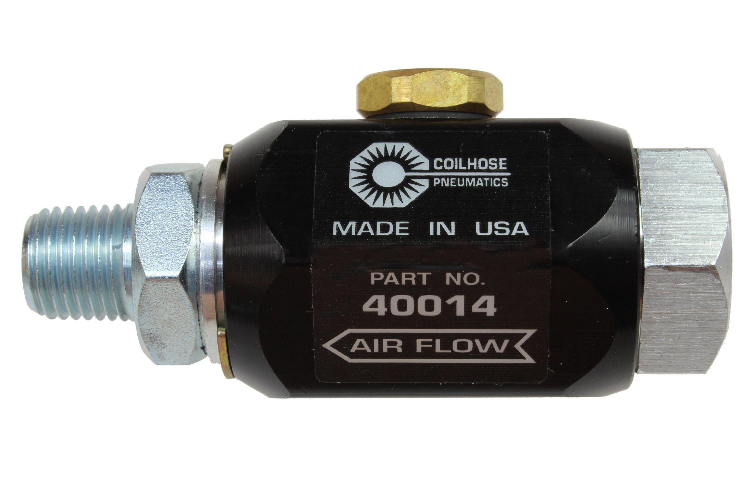 Coilhose Pneumatics 40014 InLine Lubricator, 1/4Inch