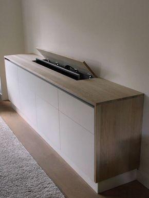 Hidden Tv Meubel.Vesper Tv Lift Meubel 55 Inch Hidden Tv Cabinet Hidden Tv Tv