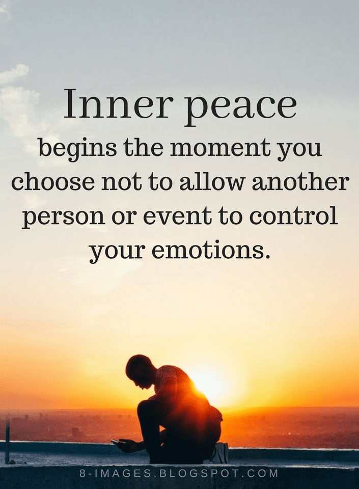 Quotes About Inner Peace Unique Inner Peace Quotes Inner Peace Begins The Moment You Choose Not To .