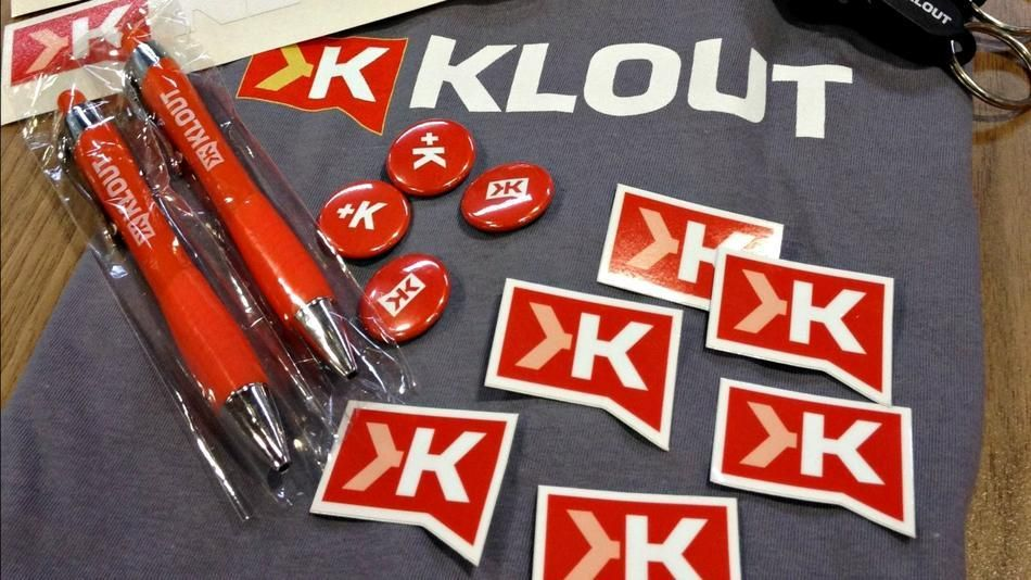 Klout!