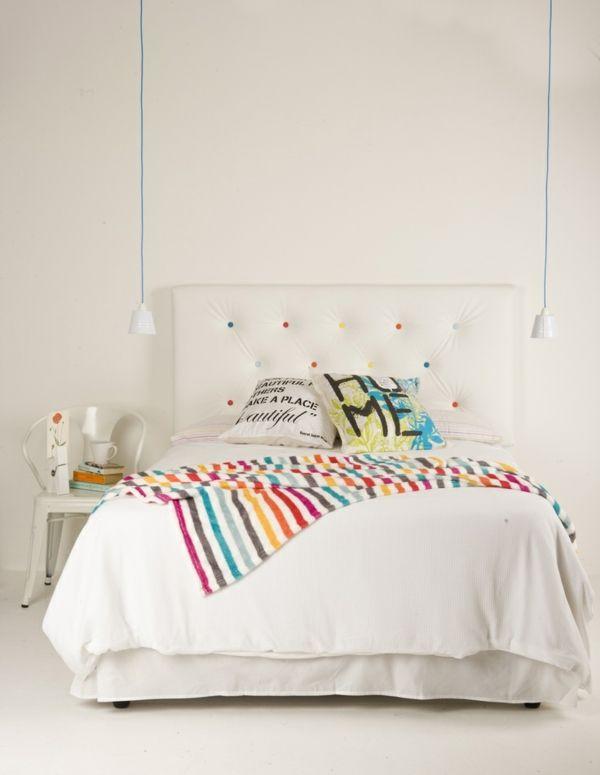 bett kopfteil selber bauen kreative bastelideen und bilder wohnung bett schlafzimmer und. Black Bedroom Furniture Sets. Home Design Ideas