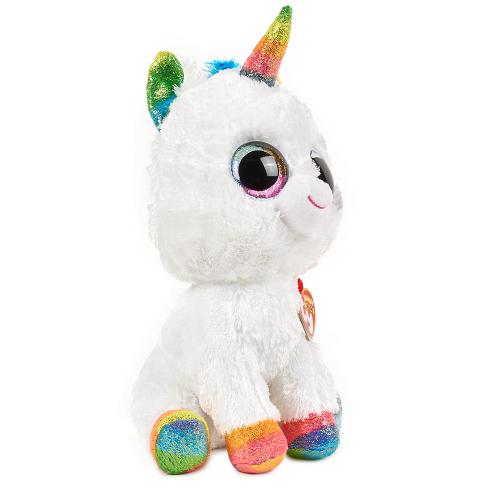 Ty Beanie Boo Pixy The Unicorn Dylan S Candy Bar Cute Birthday Gift Ty Beanie Boos Rainbow Plush