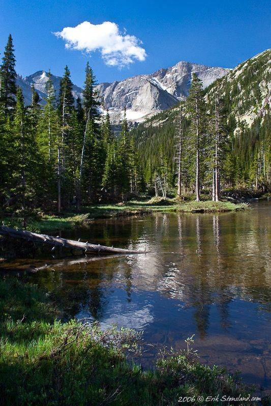 Mills Lake and Chief's Head, Rocky Mountain National Park; photo by Erik Stensland is part of Rocky mountain national park -