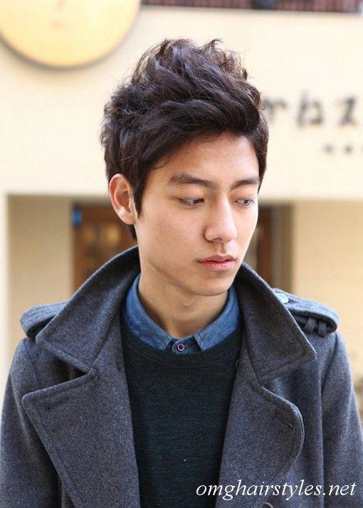 Awe Inspiring Korean Men Short Hairstyle Male Hair Men Short Hairstyles And Hairstyles For Men Maxibearus