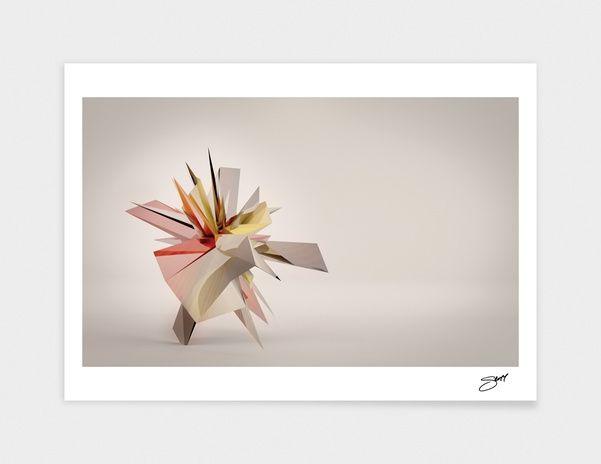 "Curioos.com | ""Mondrian Rearranged 3D"" by Scott Oppenheim  - Gallery Quality Art Print"