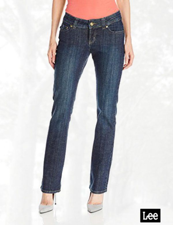 f4734fb0adb Lee Women's Misses Slender Secret June Barely Bootcut Jean | Denim ...