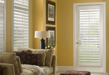 Faux Wood French Door Shutters Custom Blinds And Shades By Selectblinds