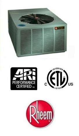 3 Ton 16 Seer Rheem Air Conditioner Rarl036jec 1989 Air