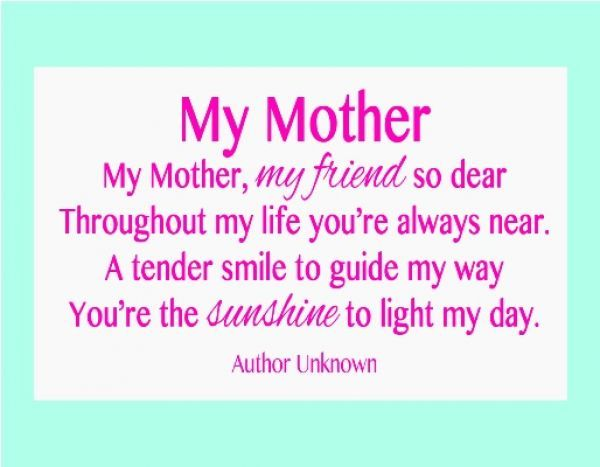 Short Grandma Poems For Mothers Day Poems On Mothers Dayhappy