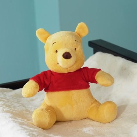 Winnie The Pooh Sunny Hunny Day 4 Piece Crib Bedding Set