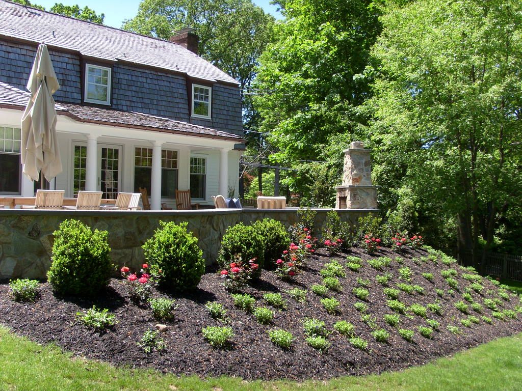 landscaping berms Landscape Contractor New Jersey Landscape