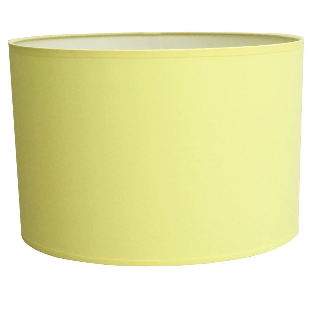 Drum table lampshade in citrus cotton drum lampshade collection drum table lampshade in citrus cotton aloadofball Images