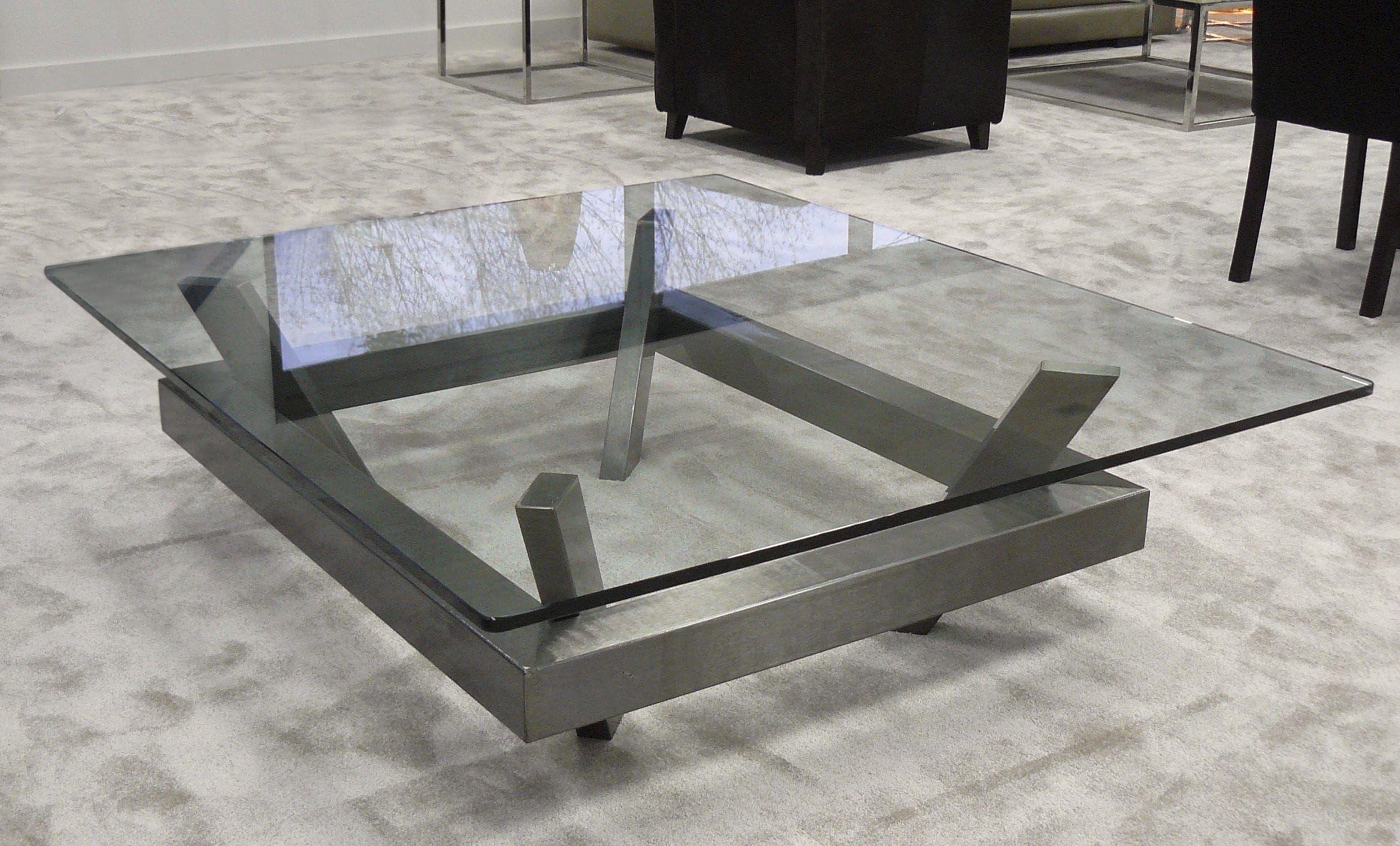 Para hacer con madera mesas de centro mesas de vidrio for Muebles de cristal