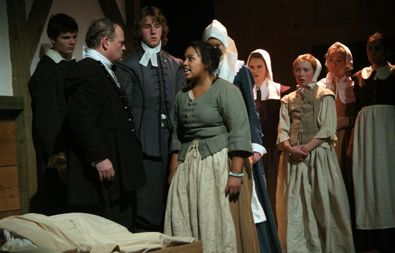 a description of salem and the crucible Powerful play about salem witch trials a riveting read read common sense media's the crucible review, age rating, and parents guide.