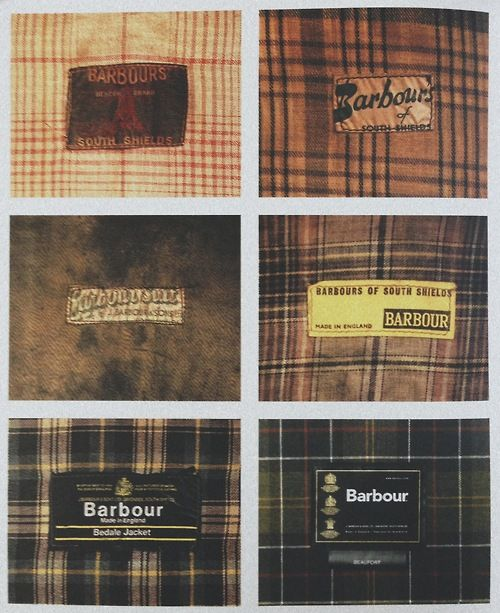 The evolution of Barbour's graphic identity and tartans.