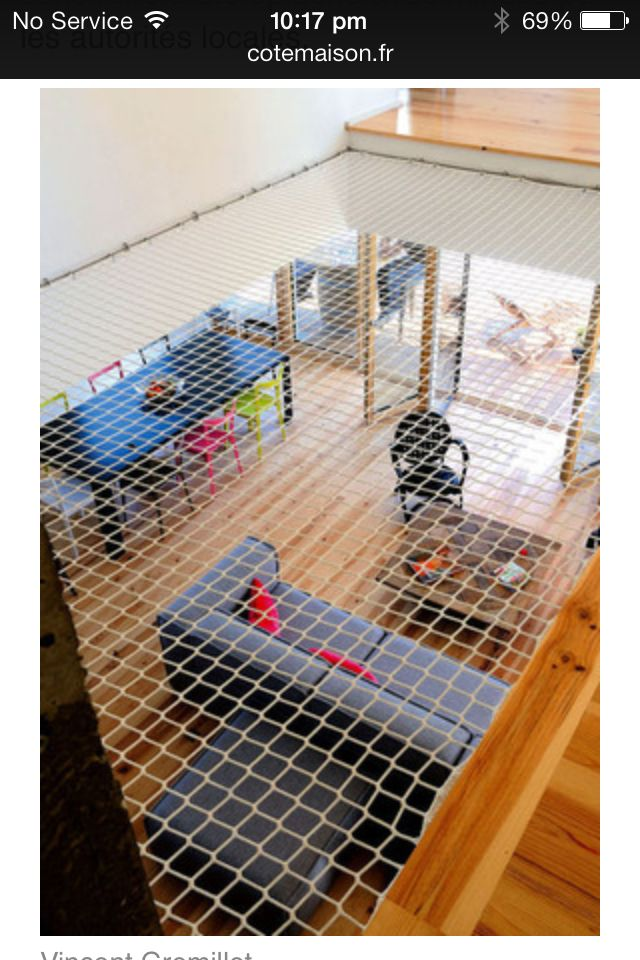 Trampoline int rieur furniture pinterest mezzanine for Trampoline interieur