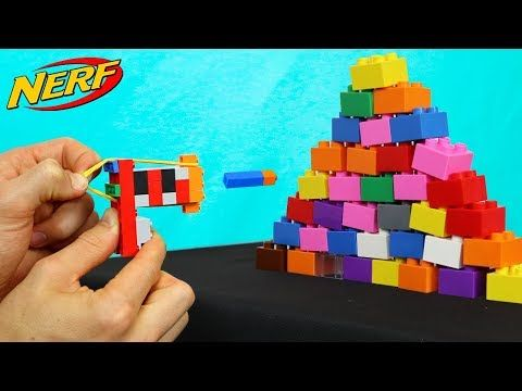 WORLDS BIGGEST LEGO NERF GUN!! - YouTube