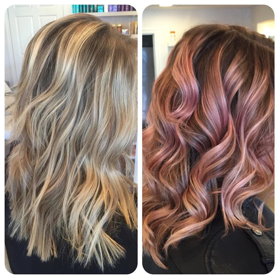 Hair By Briananicole Before After With Go Deep Pastel Pink