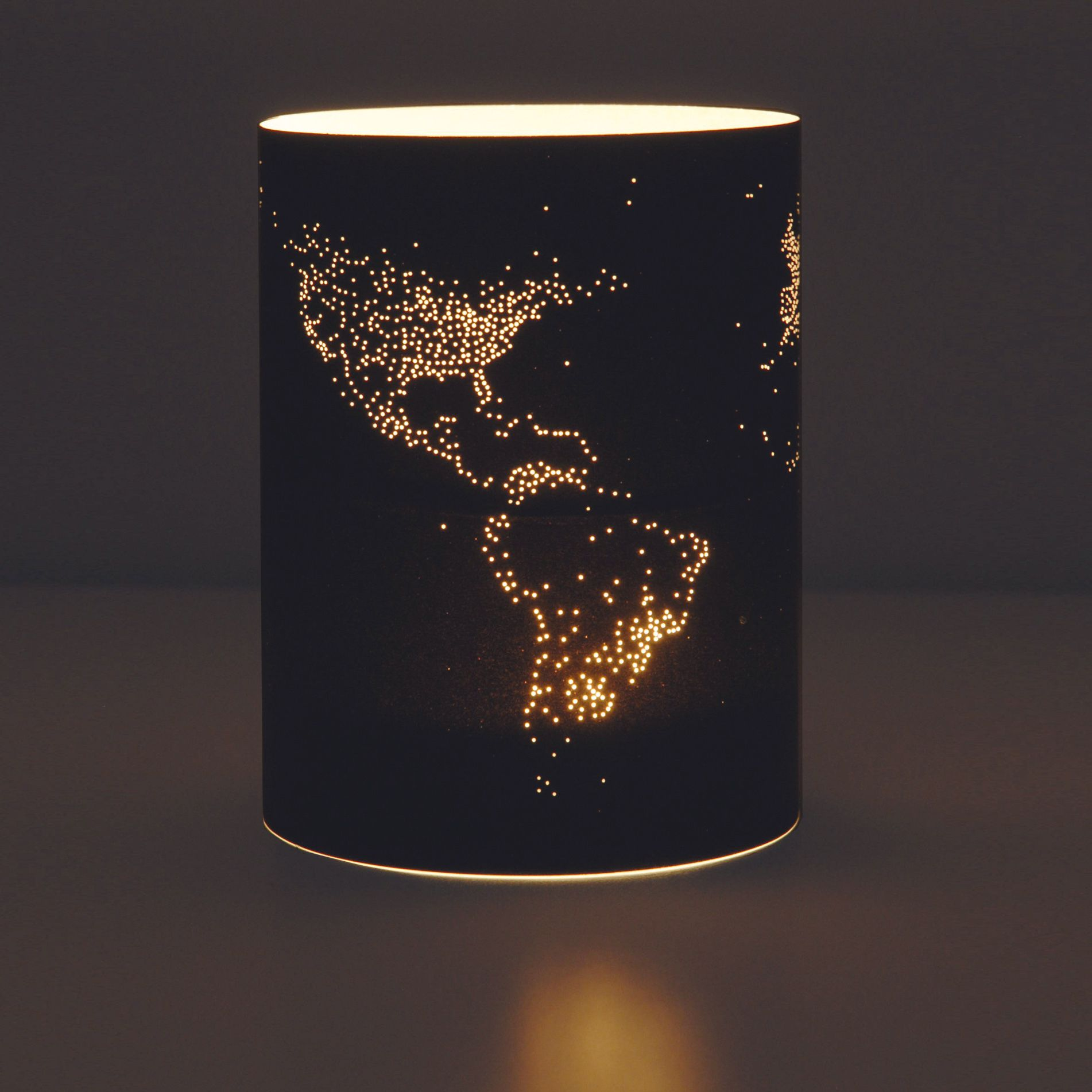 Craft paper lamp shades - Lights Of Earth Pin Holes In Paper Taped Then Placed Around A Tea Light Candle Would Be Awesome With A Thin Sheet Of Aluminum Or Copper