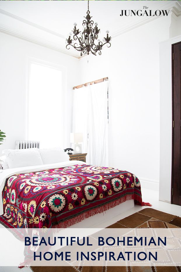 Bohemian Home Inspiration Via The Jungalow {Outtakes from The New Bohemians Book - Justina Blakeney}