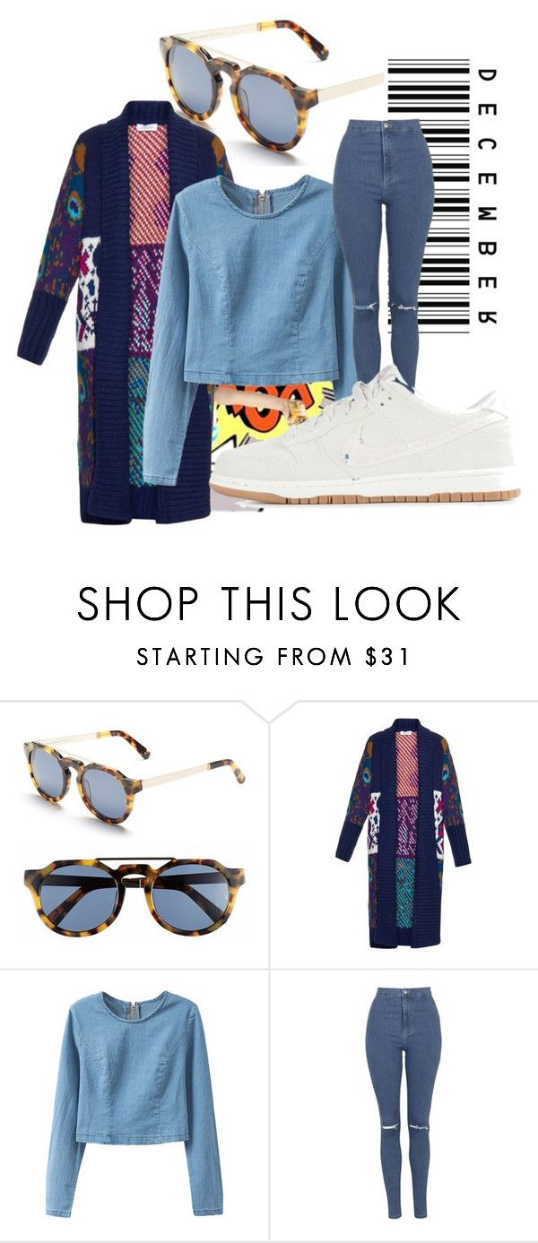 """""""Untitled #318"""" by samyalltheway ❤ liked on Polyvore featuring Sephora Collection, Sunday Somewhere, Tak.Ori, Topshop and NIKE"""