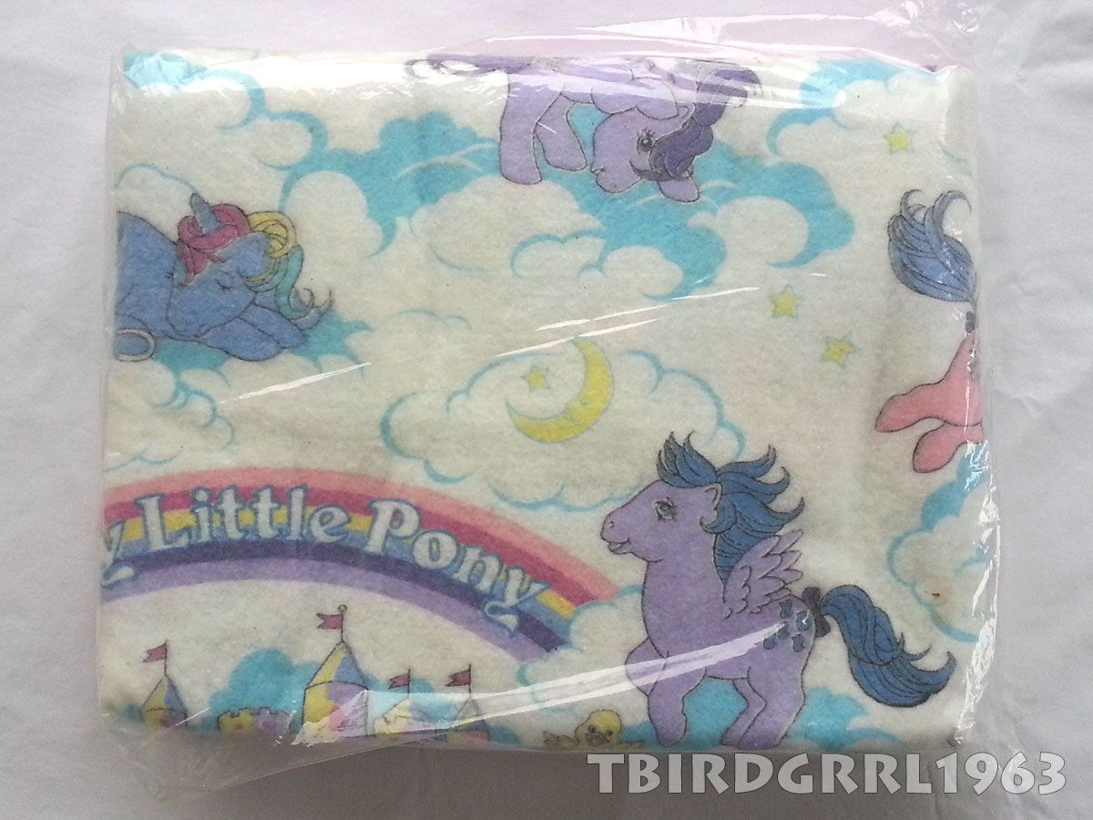 My Little Pony Bettwäsche Vtg G1 My Little Pony Blanket Comforter Bedding Twin Full Bed Mlp