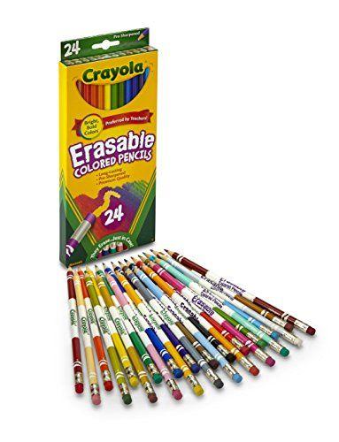 Crayola 24ct Erasable Colored Pencils Crayola Http Www Amazon