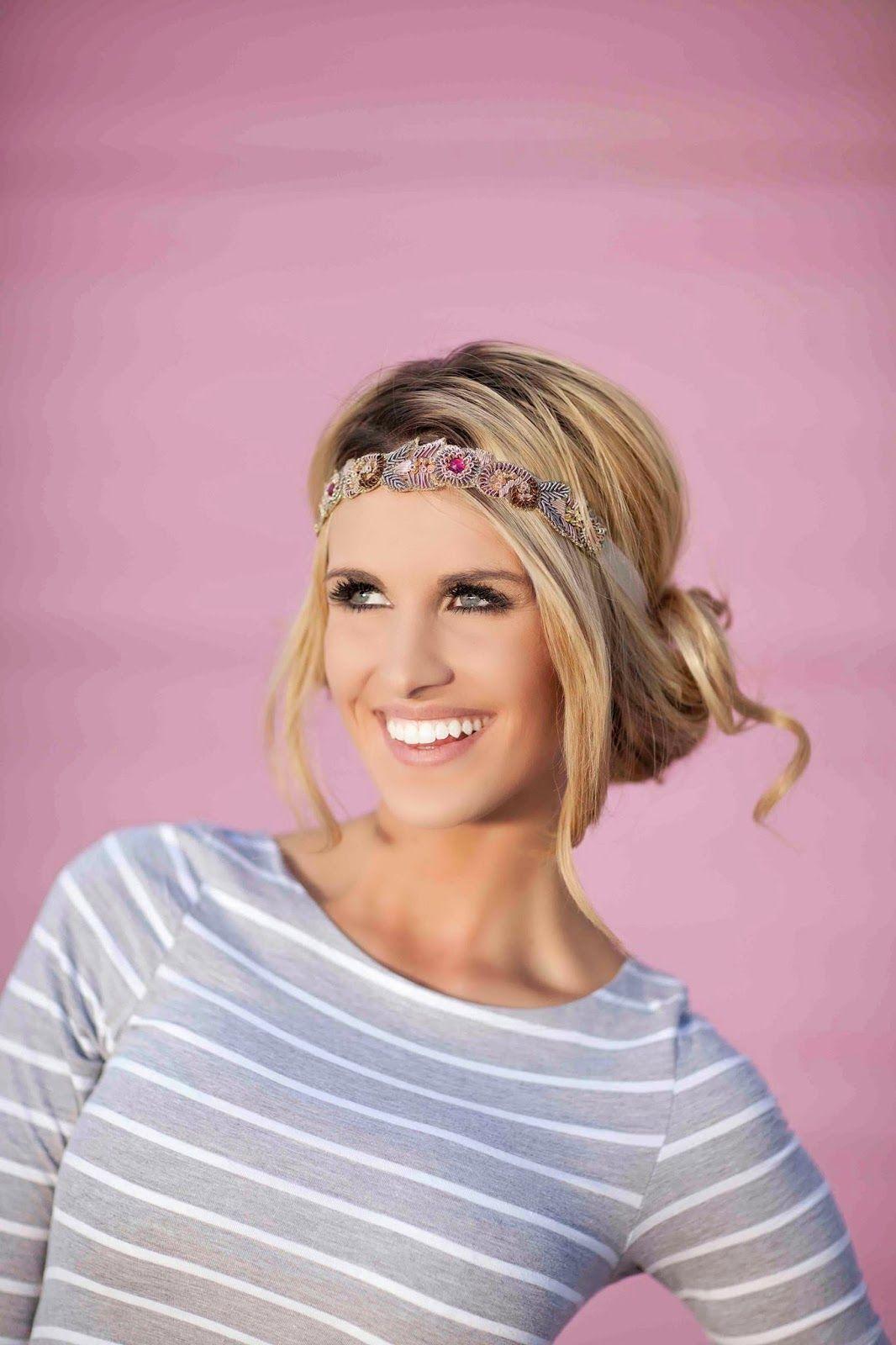Hey mcki how to wear headbands hair pinterest hair how to