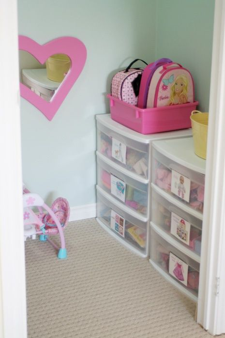 Serenity now 28 kids 39 toy organization and storage ideas Closet toy storage ideas