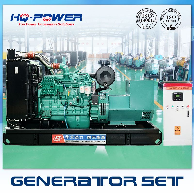 China Factory 200kw Self Running Fuel Less Generator With Ats Controller For Sale Generator Price Diesel Generators Alternator