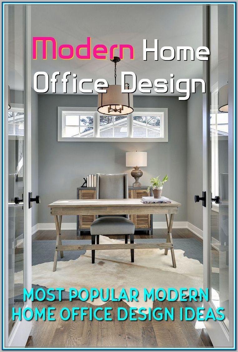 Most Popular Modern Home Office Design Ideas For Inspiration Home Office Design Modern Home Office Modern Home Offices