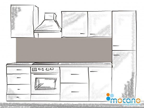 Graue Rückwand für Ihre Küche, als moderne Küchenrückwand mit - rückwand für küche