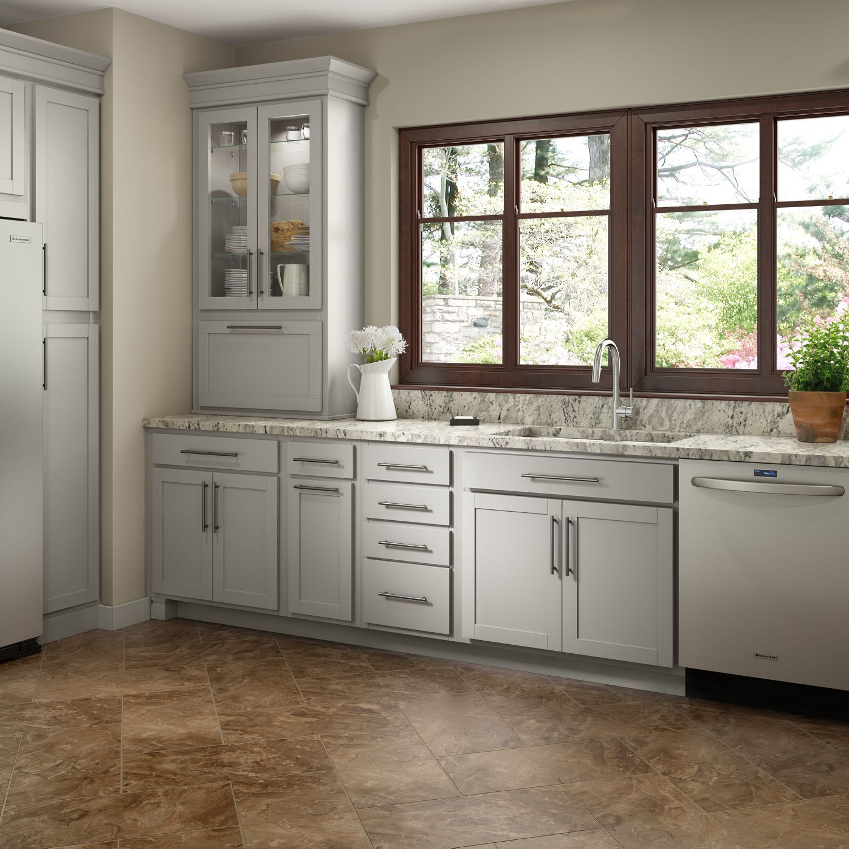 Shenandoah Kitchen Cabinets Best Off White Color For Audrey Cabinetry Remodel