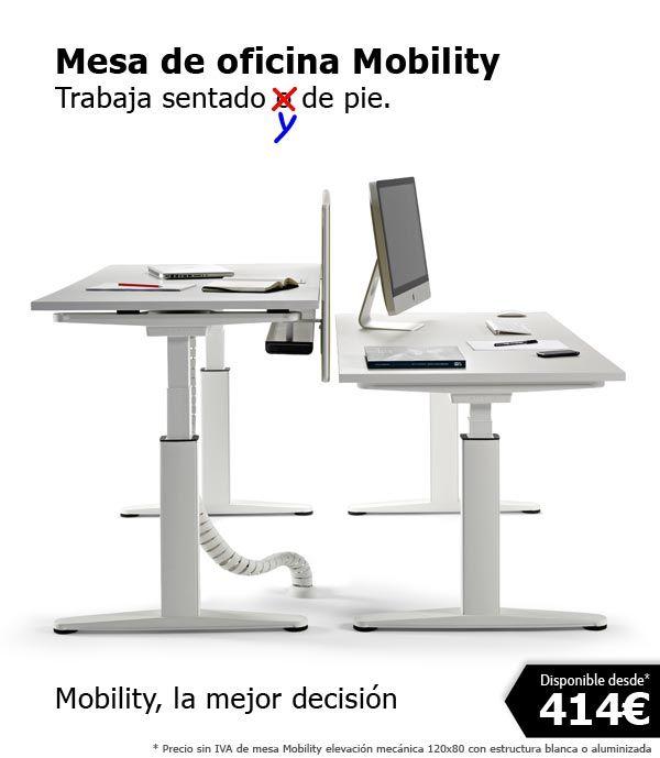Lanzamos la campaña de Mobility, la mesa de oficina regulable en ...
