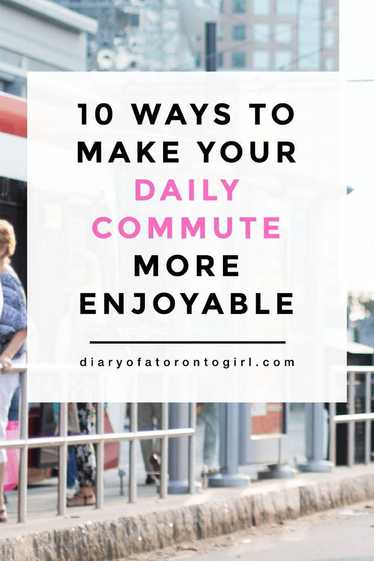 7 Ways to Make Your Daily Commute More Enjoyable Commuter