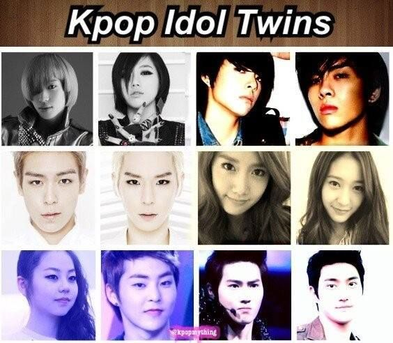 Kpop Idol Twins Korean Bands Kpop Kpop Idol