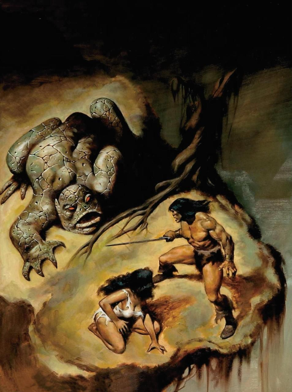 swordandsorcerytales:  Conan by John Buscema.