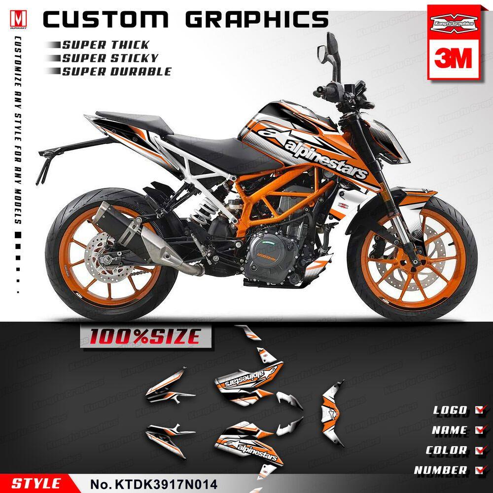 Advertisement eBay) Complete Bike Wrap Set Custom Graphics