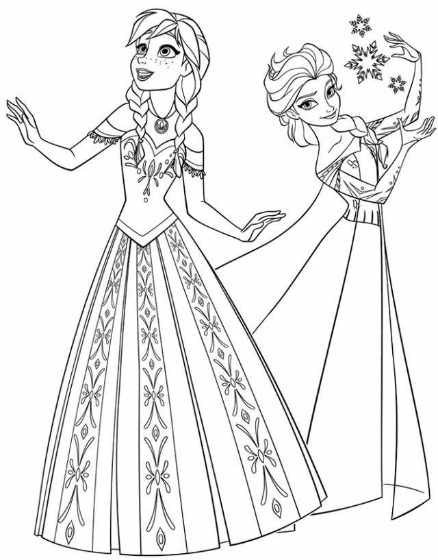 papertoys paperdolls coloriages et activits imprimer la reine des neiges - Coloriage Reine Des Neiges Olaf