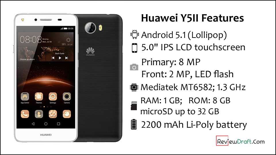 Huawei Y5II Price in Bangladesh, Full Specification | Mobile