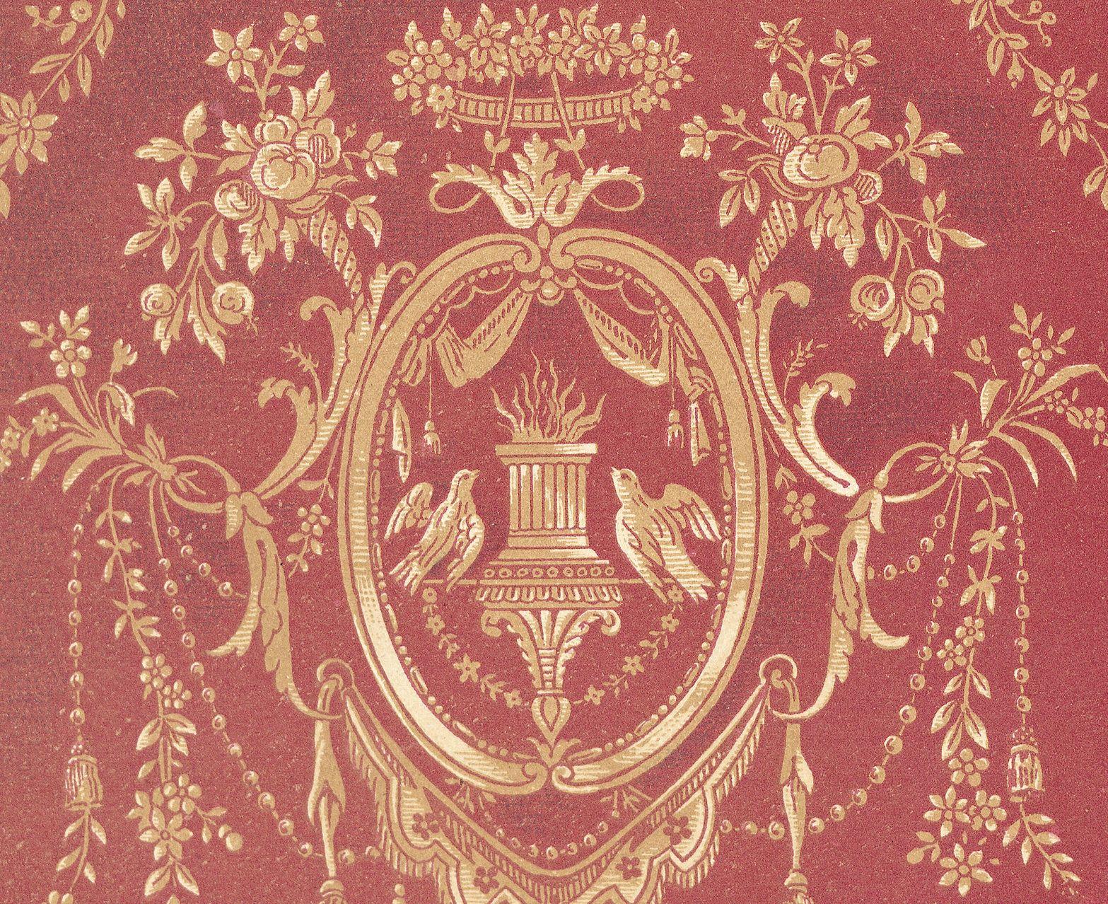 Downton Abbey Wallpaper In 2019 Victorian Wallpaper Room
