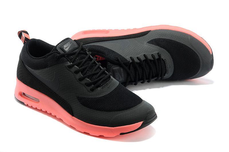 official photos 90955 dd1b7 Cheap Nike Air Max Thea Print Men Black Hot Punch Shoes PK108