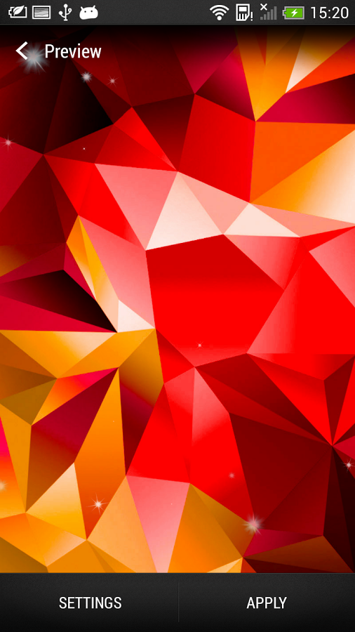 Galaxy S5 Paint Live Wallpaper Download