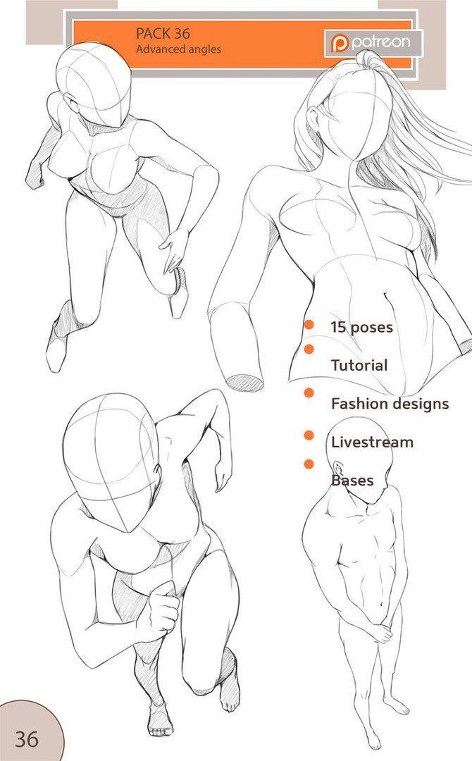 Mujer perspectivas | Sketches | Pinterest | Perspectiva, Anatomía y ...
