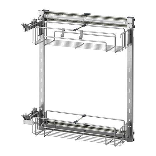 IKEA - UTRUSTA, Schrankeinrichtung, ausziehbar | Ikea | Pinterest ...