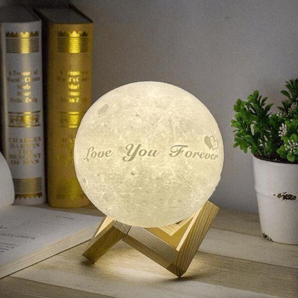 50 Unique Mond Design Lampe Stock In 2020 Night Light Custom Photo Photo Engraving