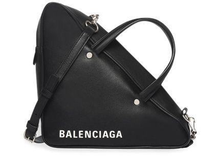 BALENCIAGA TRIANGLE DUFFLE S BLACK