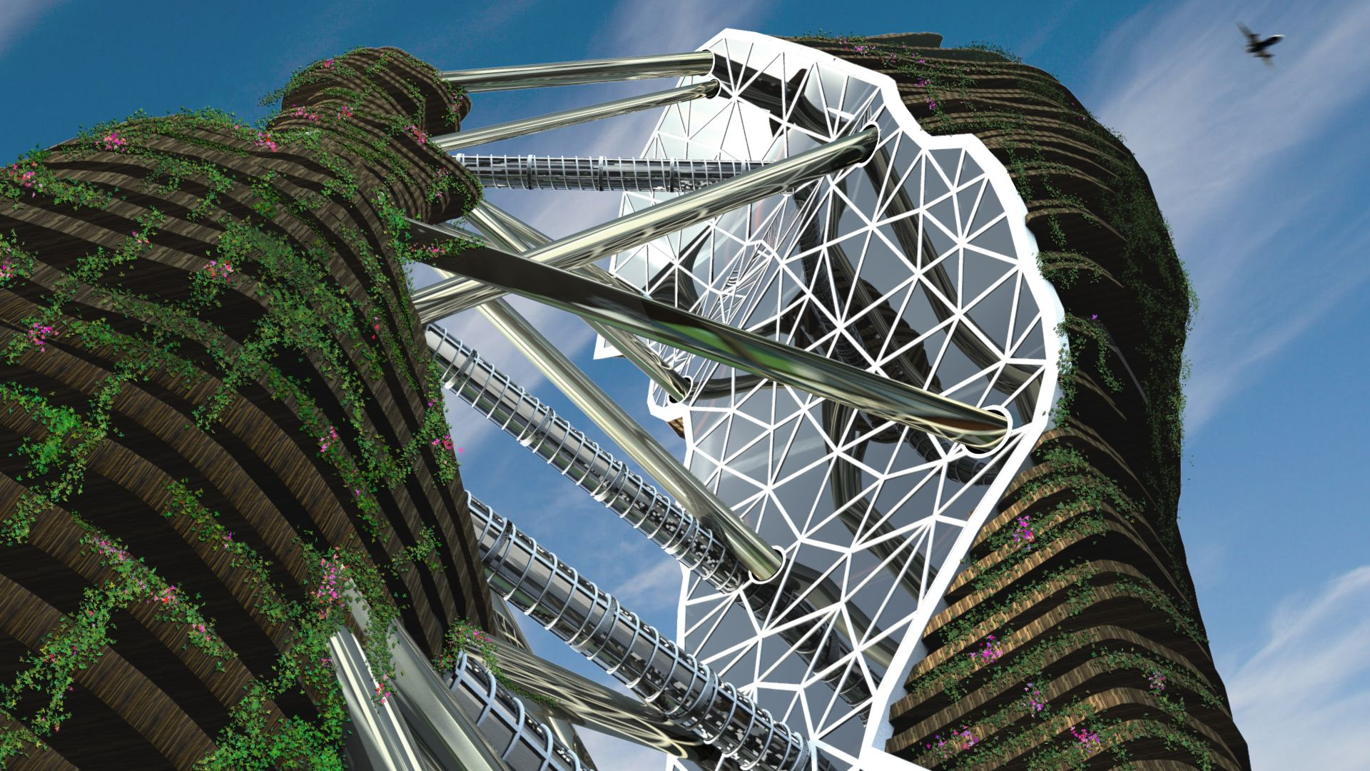 'Hong Kong Arcology SkyScraper', nominado al WAF 2014 / México