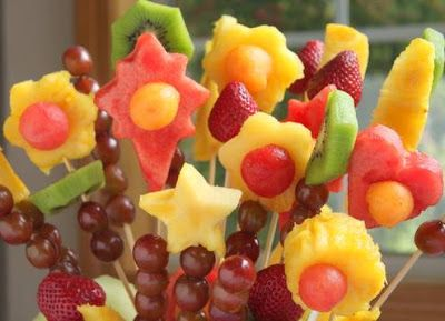 how to make fruit in different shapes